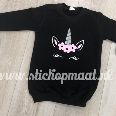 sweater-dress-jurkje-eenhoorn-unicorn